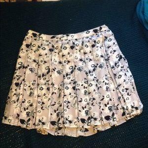 Banana Republic flowered skirt